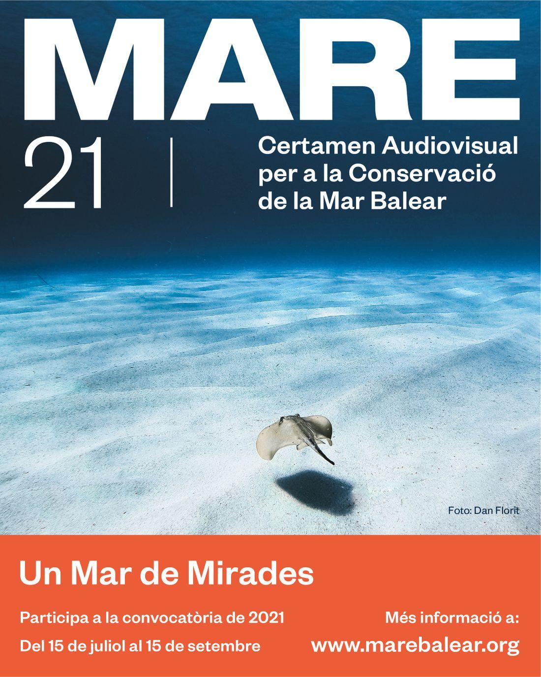 Arriba la segona edició de MARE, el Certamen Audiovisual per a la Conservació de la Mar Balear