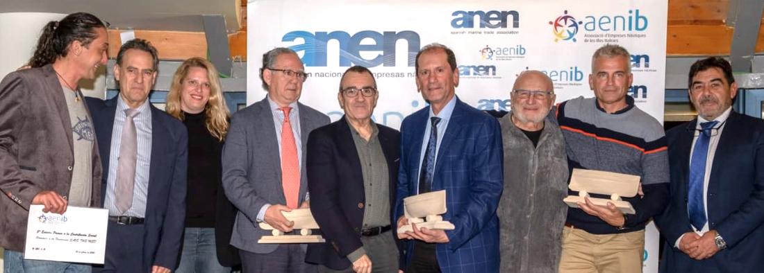 Save The Med recibe el premio de Contribución Social de AENIB