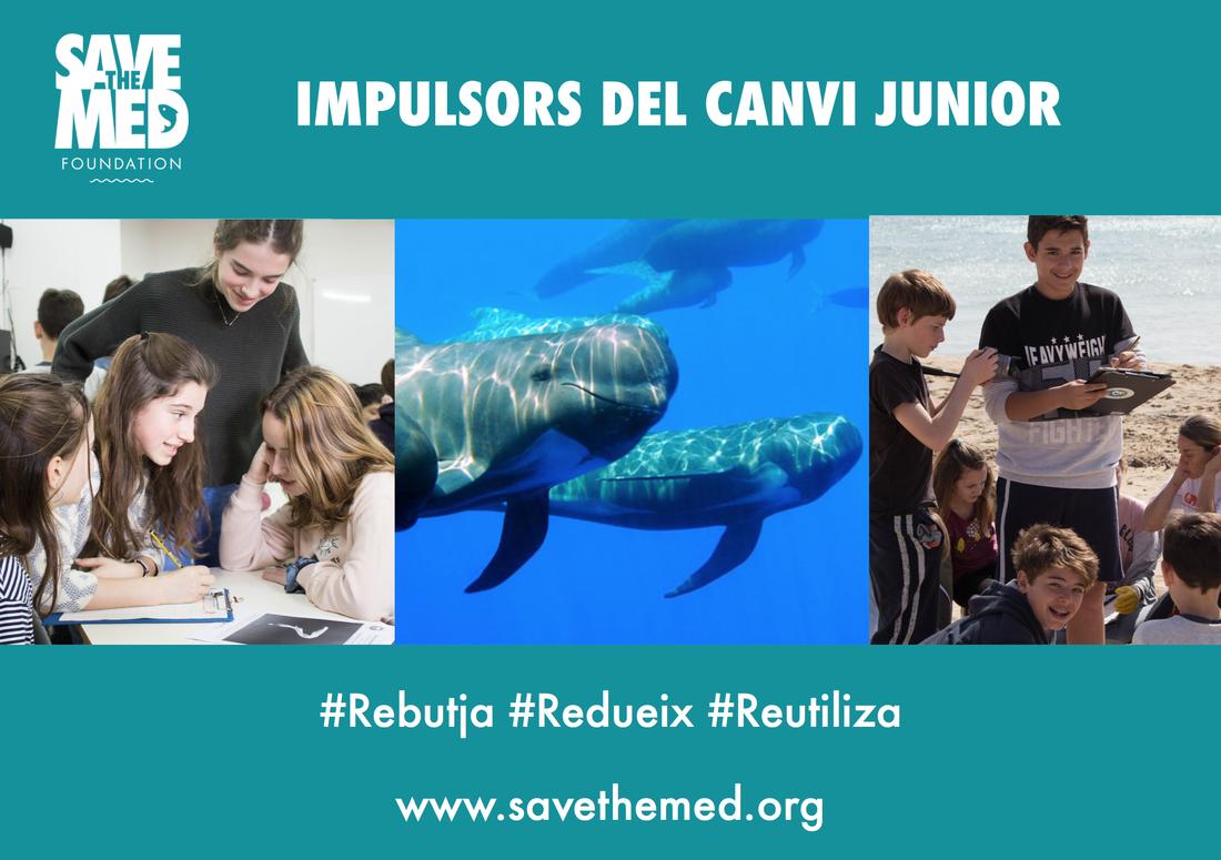 """Apunta't al projecte pilot """"Impulsors del Canvi Júnior"""", per a estudiants de 8 a 14 anys!"""