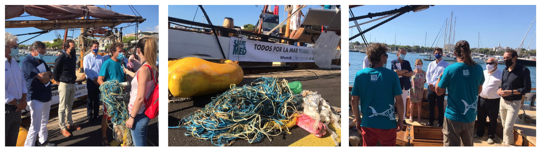 Save The Med and collaborators launch a new project 'MED GHOST FADs' to reduce the threats of ghost fishing