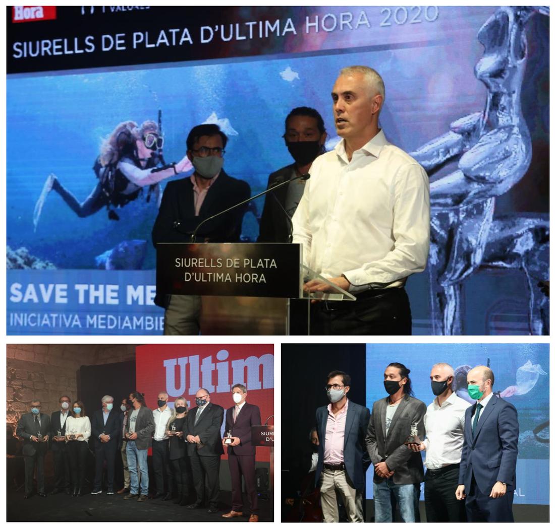 Save The Med rep el premi Siurell de Plata 2020 a la millor iniciativa mediambiental!