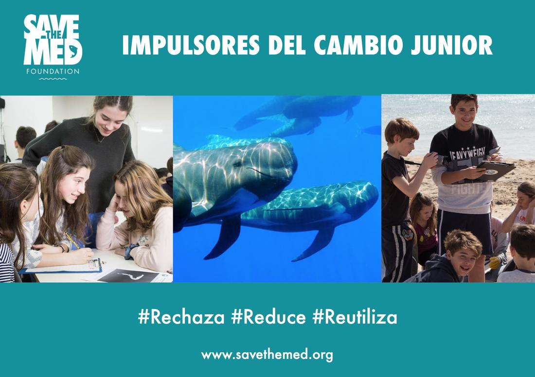 """¡Apúntate al proyecto piloto """"Impulsores del Cambio Junior"""", para estudiantes de 8 a 14 años!"""