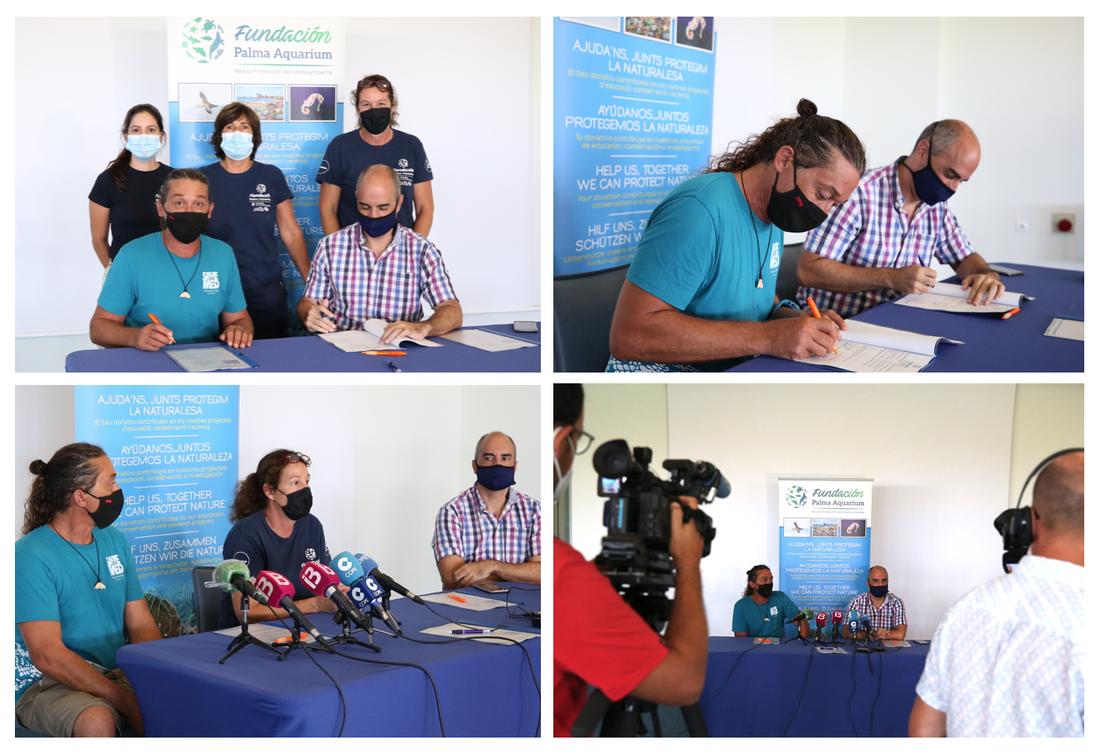 STM i la Fundació Palma Aquarium signen un conveni de col·laboració