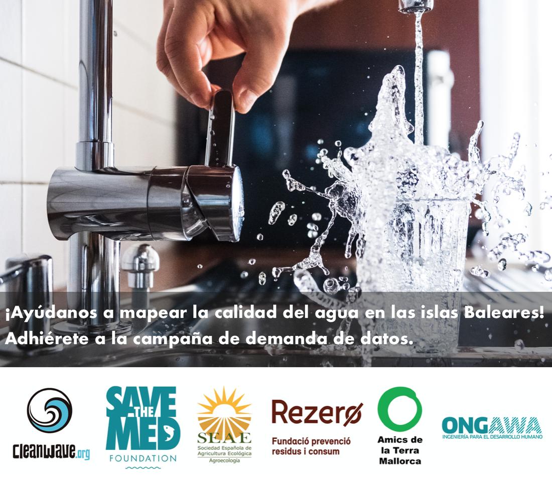 ¡Únete al movimiento para recuperar el derecho a beber agua del grifo!