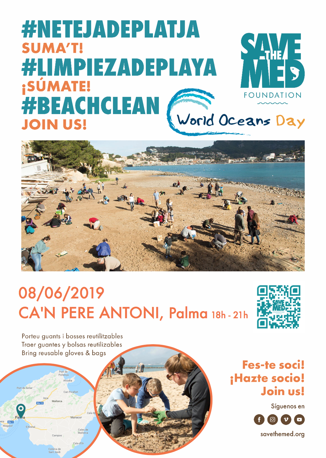 Celebrate World Ocean's Day with us @ Ca'n Pere Antoni